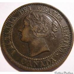 Victoria - One Cent 1859