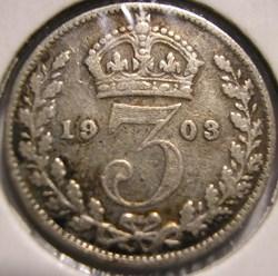 Edward VII - 3 Pence 1903 - United Kingd...