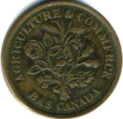 Montreal 1838 Un Sou Bouquet - Banque du...