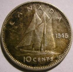 George VI - 10 Cents 1945