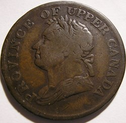 Upper Canada 1832 - HalfPenny Token - Jo...