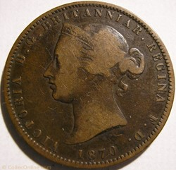 Victoria - 1/13 Shilling 1870 - Jersey