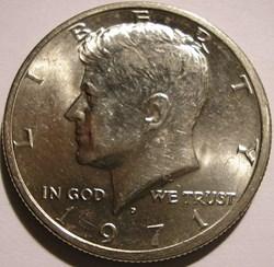 1971 Denver Half Dollar (ex.3)