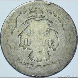 monnaie monde etat uni 1875 s dime 10 cents