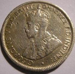 George V - Six Pence 1923 - Australia