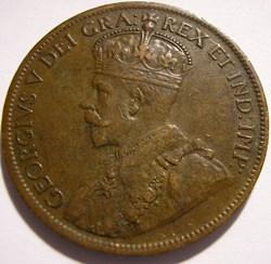 George V - 1 Cent 1915