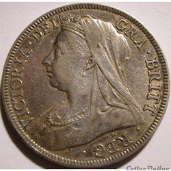 Victoria - Half Crown 1896 - Kingdom of Great Britain