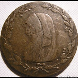 1793 Druid HalfPenny - North Wales