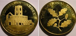 The National Trust Token - Fountains Abb...