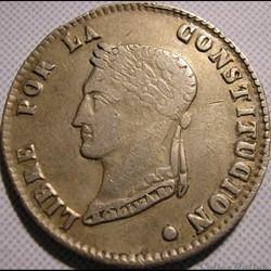 1857 Potosi - 4 Soles