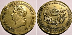 George IV -  Accession & Crowning Token ...