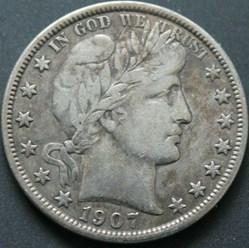 1907 New Orleans Half $