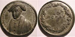 King Edward VI Tudor - Merit Medal by Je...