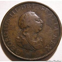 George III - 1/2 Penny 1799 Great Britain