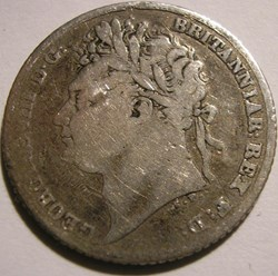 George IV - 6 Pence 1824 - Great Britain