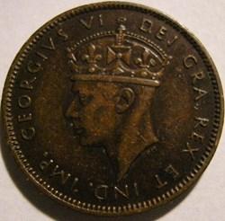 George VI - 1 Cent 1938 Newfoundland