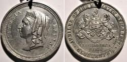 Victoria - 1887 Golden Jubilee Medal, Gl...