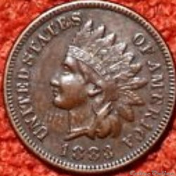 1883 One Cent