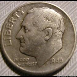 1946 Dime