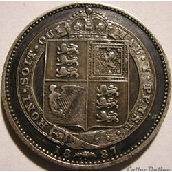 Victoria - 1 Shilling 1887 - Kingdom of Great Britain (ex.2)