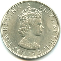Elizabeth II - One Crown 1964 - Bermuda