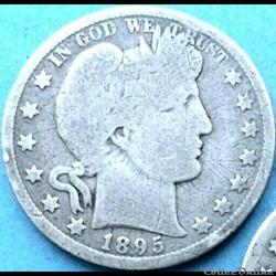 1895 New Orleans Half $