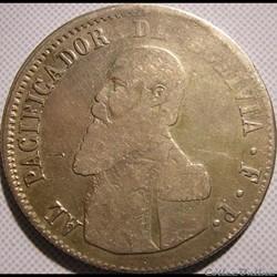 1865 Melgarejo - Pueblo Potosino - M. Melgarejo Pdt