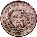 Half Cent - Draped Bust (1800-1808) - USA