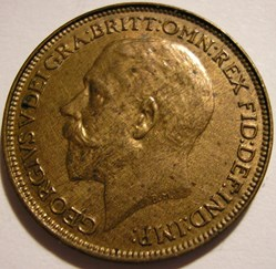 George V - Farthing 1925 - Great Britain