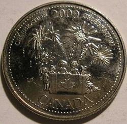 Elizabeth II - 25 Cents 2000 Celebration