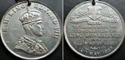 Edward VIII -  Coronation Medal 1937 at ...