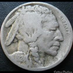 1924 Denver 5 Cents