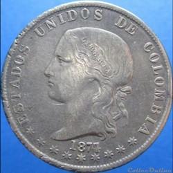 5 Decimos 1877/4 Medellin
