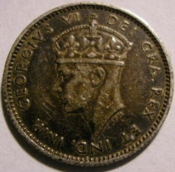 George VI - 5 Cents 1938 Newfoundland