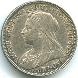 Victoria - 1 Shilling 1895 - Kingdom of ...