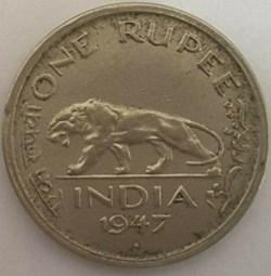George VI - One Rupee 1947 Bombay - Brit...