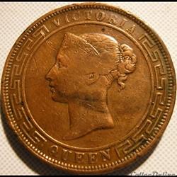 Victoria - Five Cents 1870 - Ceylon (ex.2)