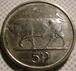 5 Pence 1992