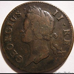 George II - Half Penny 1742 Ireland