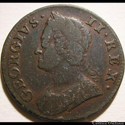 George II - Half Penny 1750 Great Britain