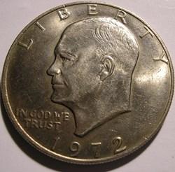 1972 One Dollar