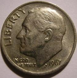 1967 Dime