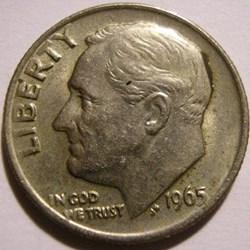1965 Dime