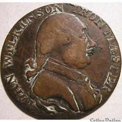 ca. 1791-93 Wilkinson HalfPenny - Warwickshire