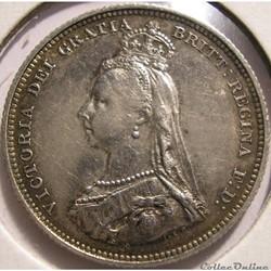 Victoria - 1 Shilling 1887 - Kingdom of Great Britain