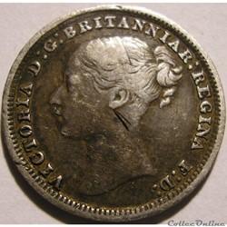Victoria - 3 Pence 1879 - Kingdom of Great Britain