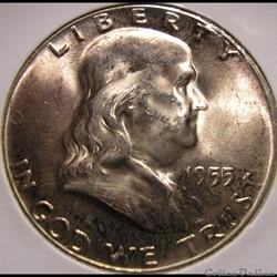 1955 Half Dollar