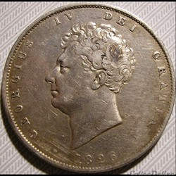 George IV - Half Crown, 1826