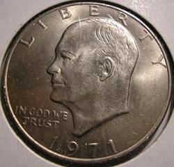 1971 One Dollar