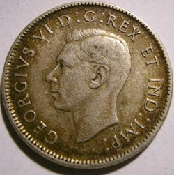 George VI - 25 Cents 1937